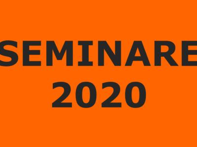 Update Seminare 2020