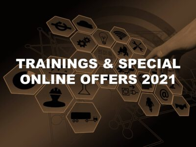Trainings 2021 & Special Offers